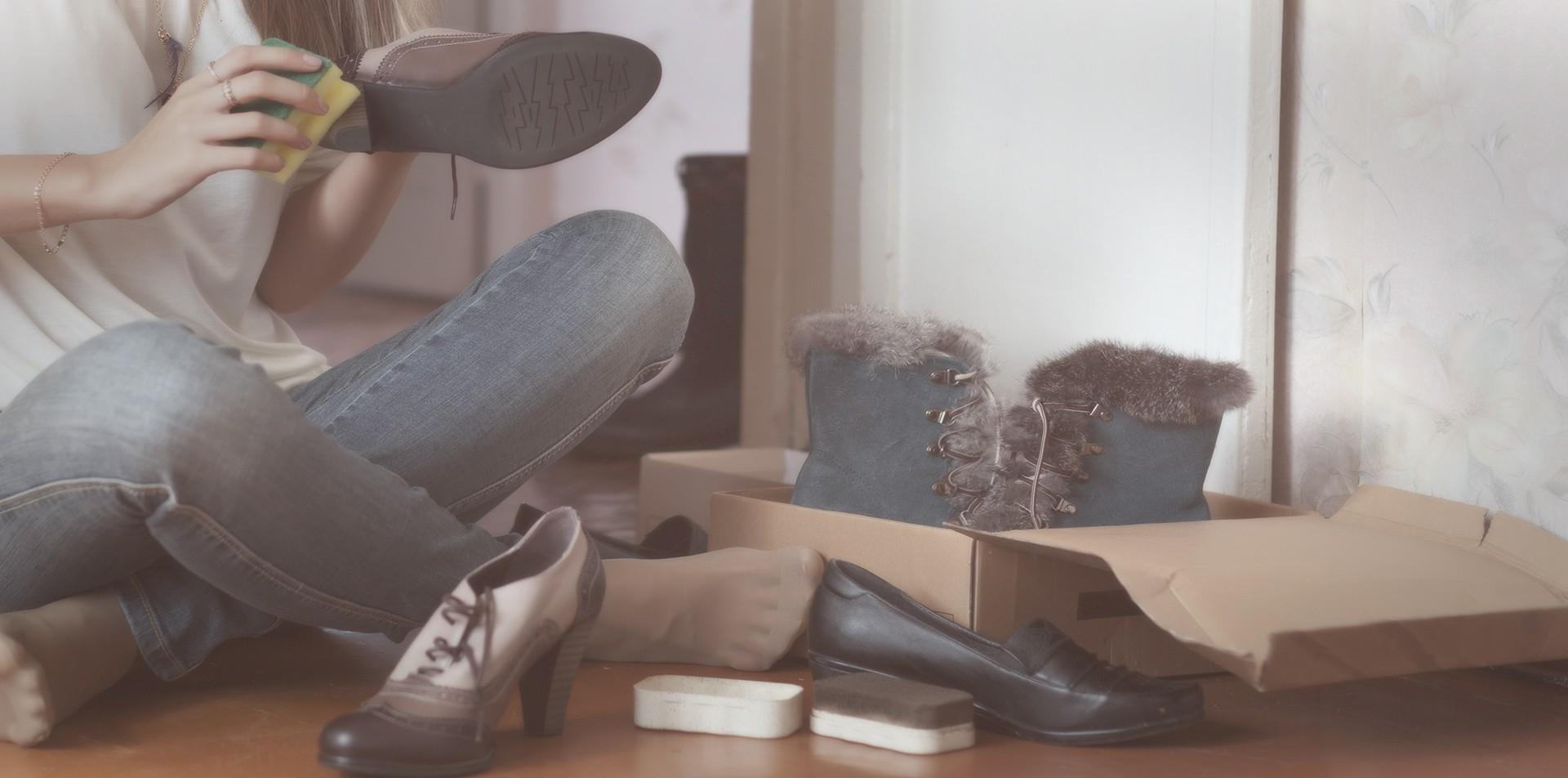 Para manter seus calçados como novos