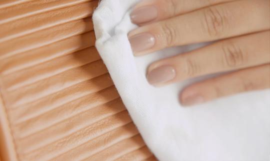 Limpeza de bolsa gel limpador para couro verniz vinil